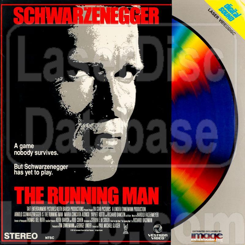 LaserDisc Database - Running Man, The [ID5234VE]