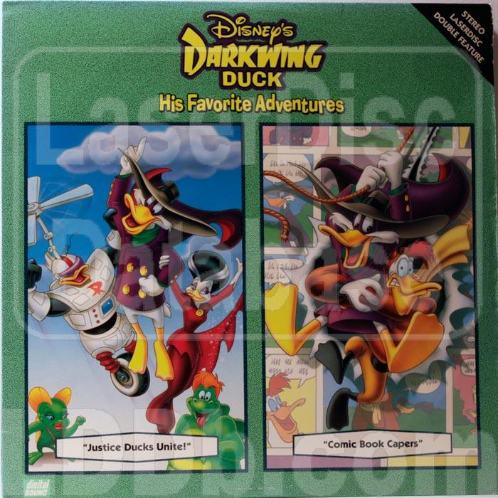 Laserdisc database darkwing duck 2 justice ducks unite comic book