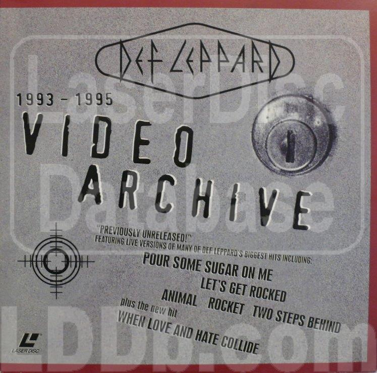 LaserDisc Database - Def Leppard: Video Archive [ID3824PG]