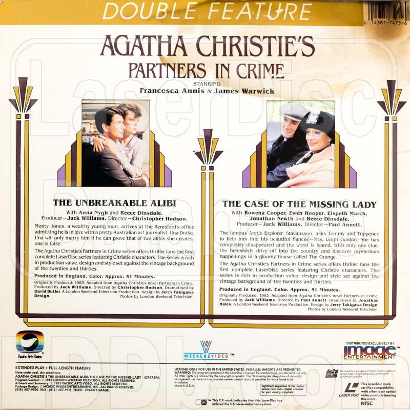 the case of the missing lady christie agatha