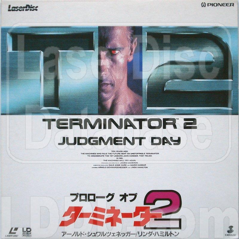 LaserDisc Database - Terminator 2: Prolog of [PIMF-1001]