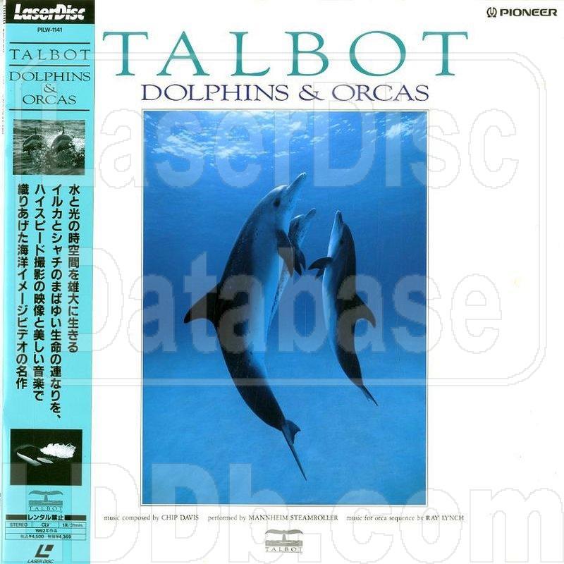 LaserDisc Database - Talbot Dolphins & Orca [PILW-1141]