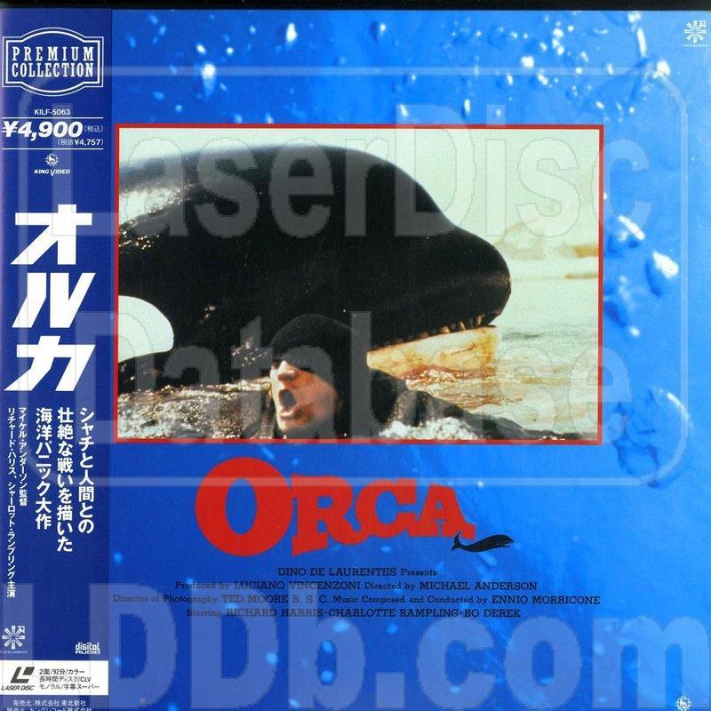 LaserDisc Database - Orca, the Killer Whale [KILF-5063]
