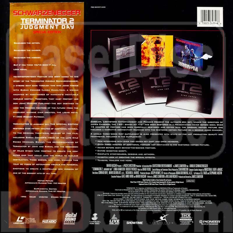 Terminator 2 laserdisc | ebay.