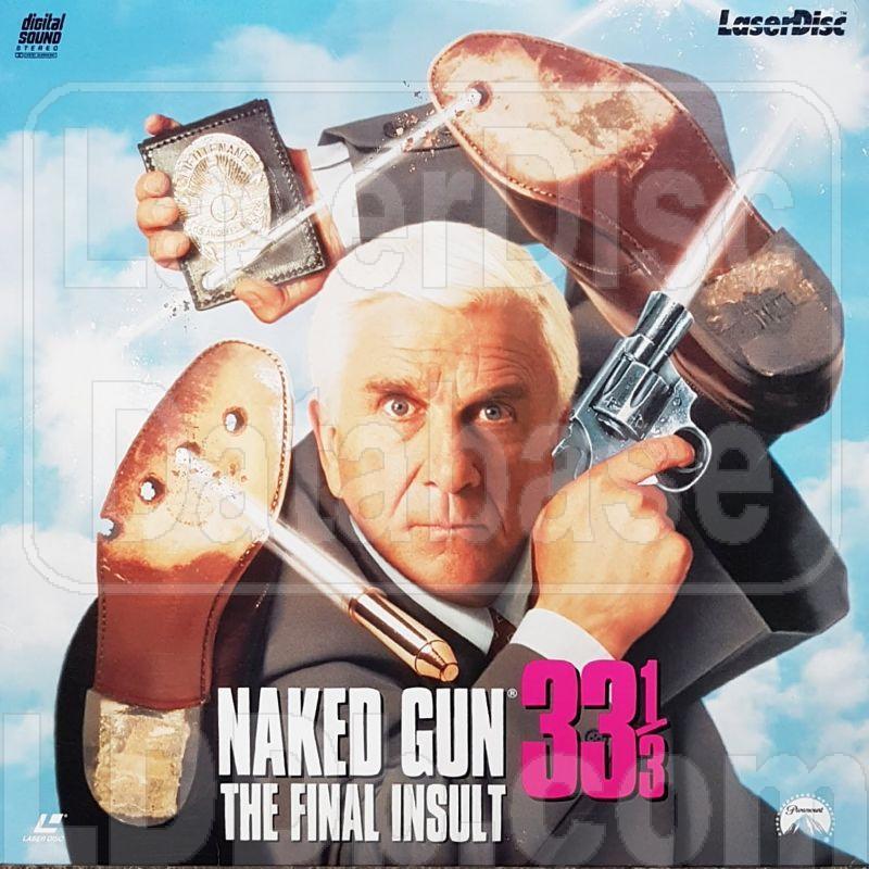 Naked Gun 33 1/3 The Final Insult Laserdisc LD Leslie