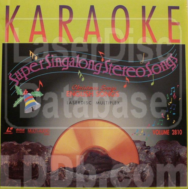 LaserDisc Database - ST Karaoke 2810: Super Stereo Singalong Songs ...