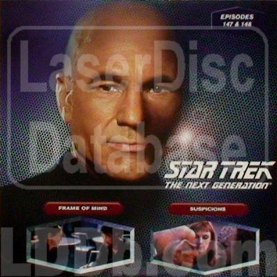 LaserDisc Database - Star Trek Next Generation #147/148: Frame of ...