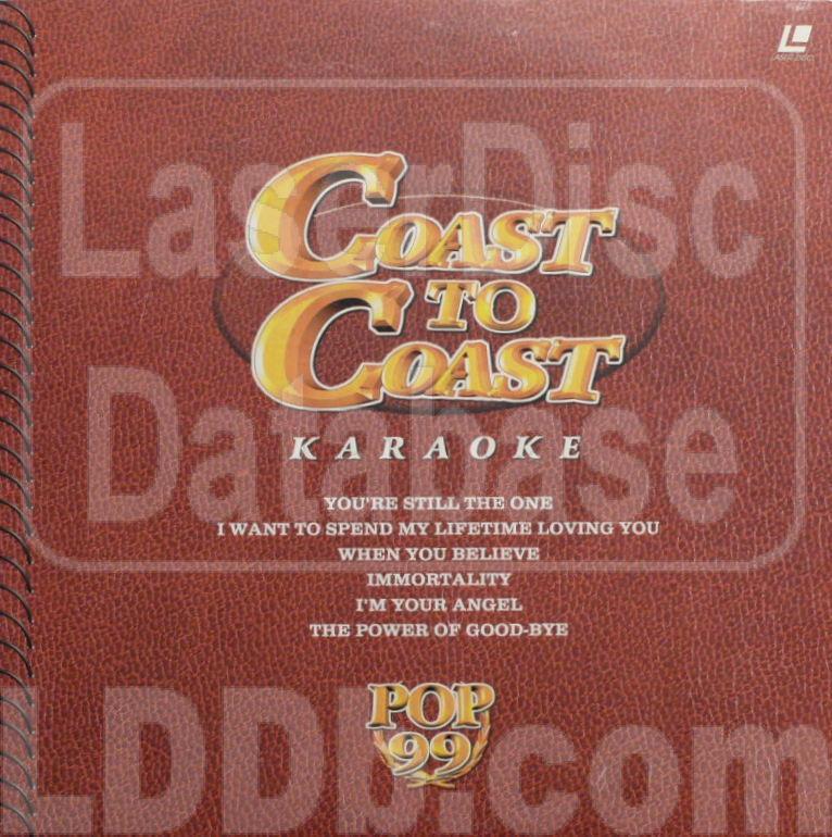 d7bf2d874a1 LaserDisc Database - Top 99 Coast to Coast: vol.1 [LD-3001]