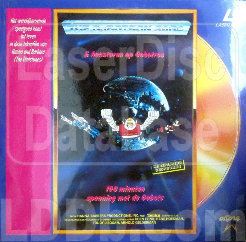 LaserDisc Database - GoBotron Saga, The: 5 Avonturen op Gobotron [LD