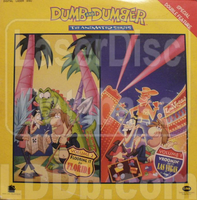 LaserDisc Database - Dumb and Dumber: The Animated Series